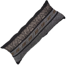 Navajo Black Long Lumber Cushion