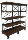 CJ Double Bookcase