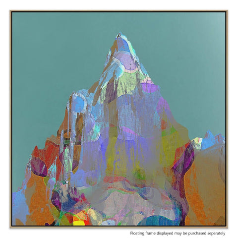 Mt Point Canvas Print with Floating Frame