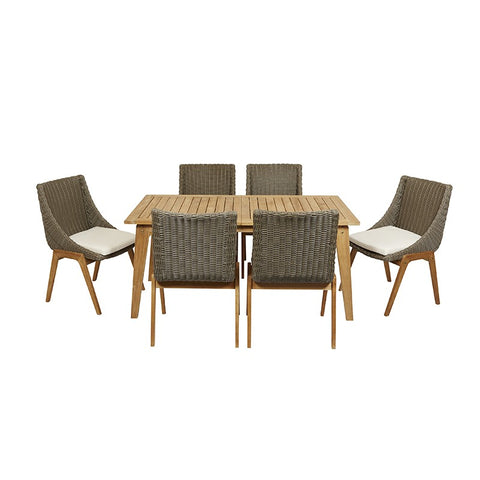 Oslo Outdoor 7 Piece Dining Setting