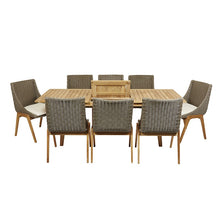 Oslo Outdoor 9 Piece Dining Setting