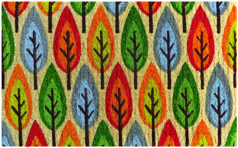 Autumn Leaves Doormat