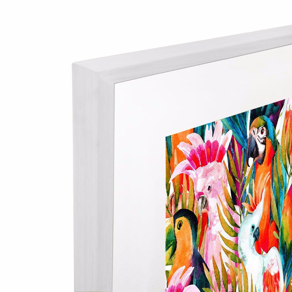 Dance of the Birds Giclee with Frame