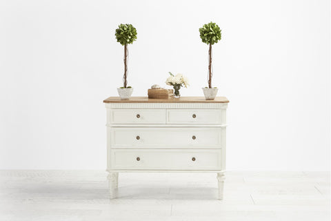 Versailles Chest Antique White