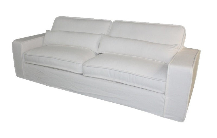Long Island 4 Seat Sofa White