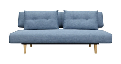 Rio Sofa Bed Blue Grey