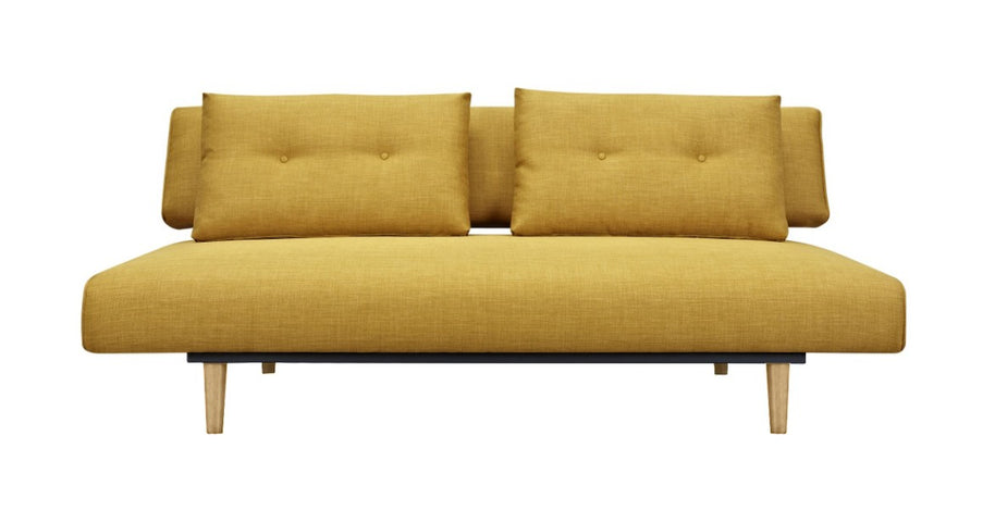 Rio Sofa Bed Yellow