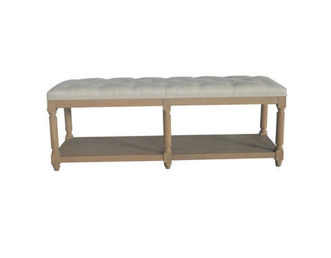 Jody Bench Weathered Oak