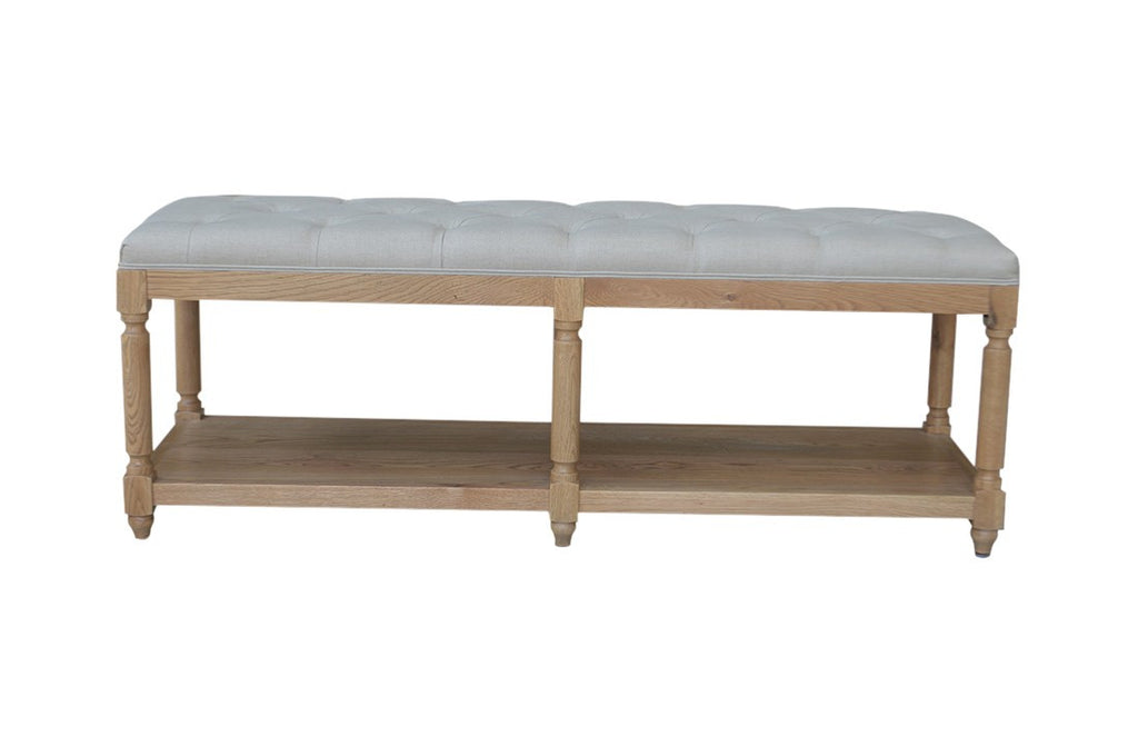Jody Bench Natural Oak