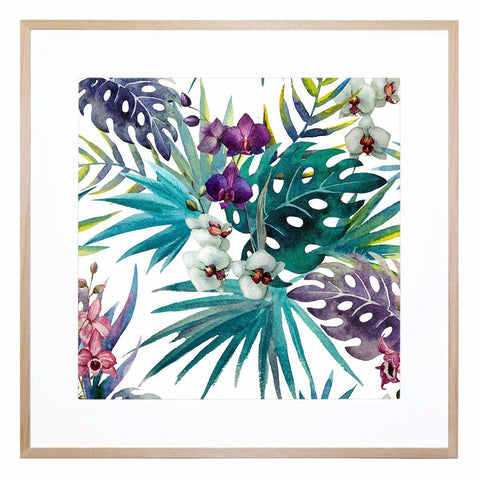 Grandiflora Giclee Print with Frame