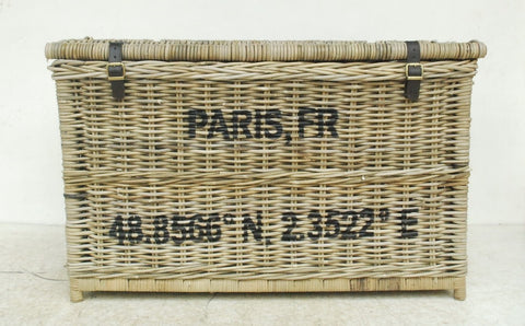 Paris Rattan Trunk