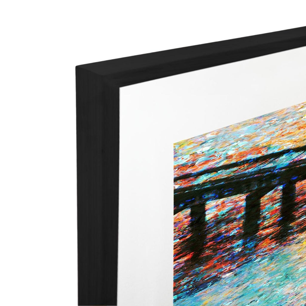 M Jetty Acrylic Print with Frame