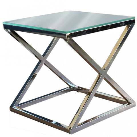 Masa Dining Table Black Glass 180cm