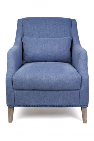 Seville Occasional Chair Blue