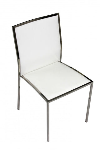 Sophie Stainless Steel Dining Chair