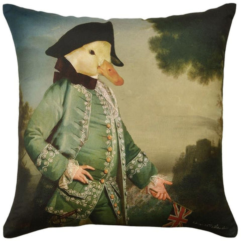 Pantomime Animals Cushion Captain Duck