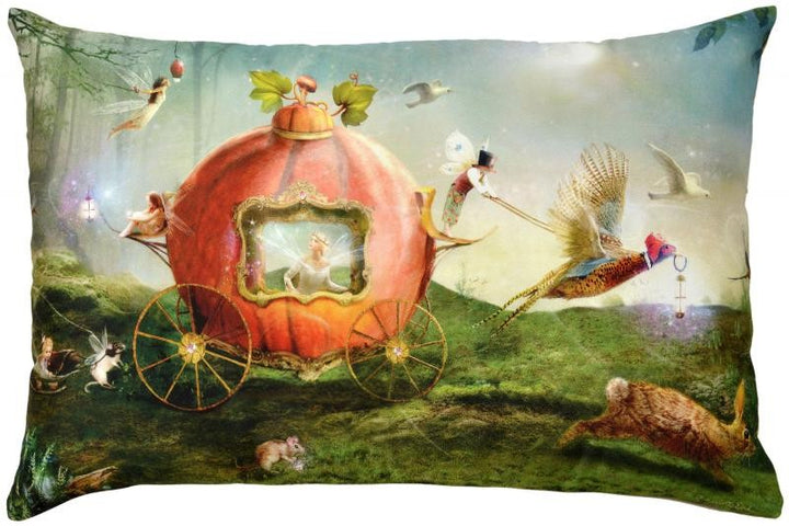 Fairy Tales Cushion Fairy Coach