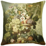 Museum Cushion Floral Fruit and Flowers