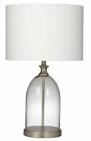 Revival Table Lamp White/Natural Pair