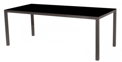Una Dining Table HPL Top Black 200cm