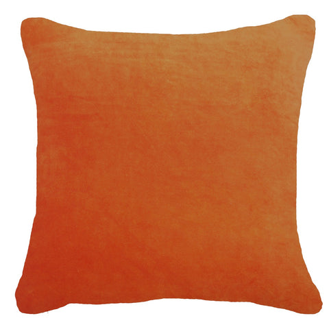Velvet Light Orange Cushion