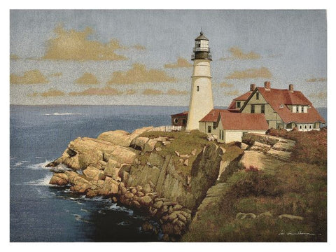 Lighthouse Point Tapestry with Rod