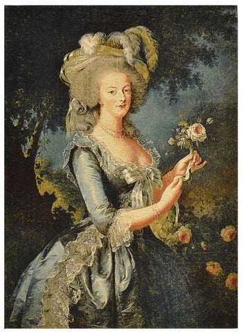 Marie Antoinette Tapestry with Rod