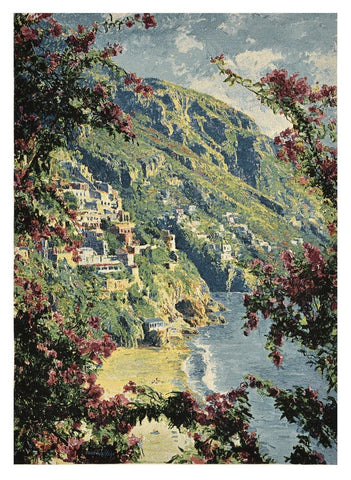 Tuscan Coast Tapestry with Rod