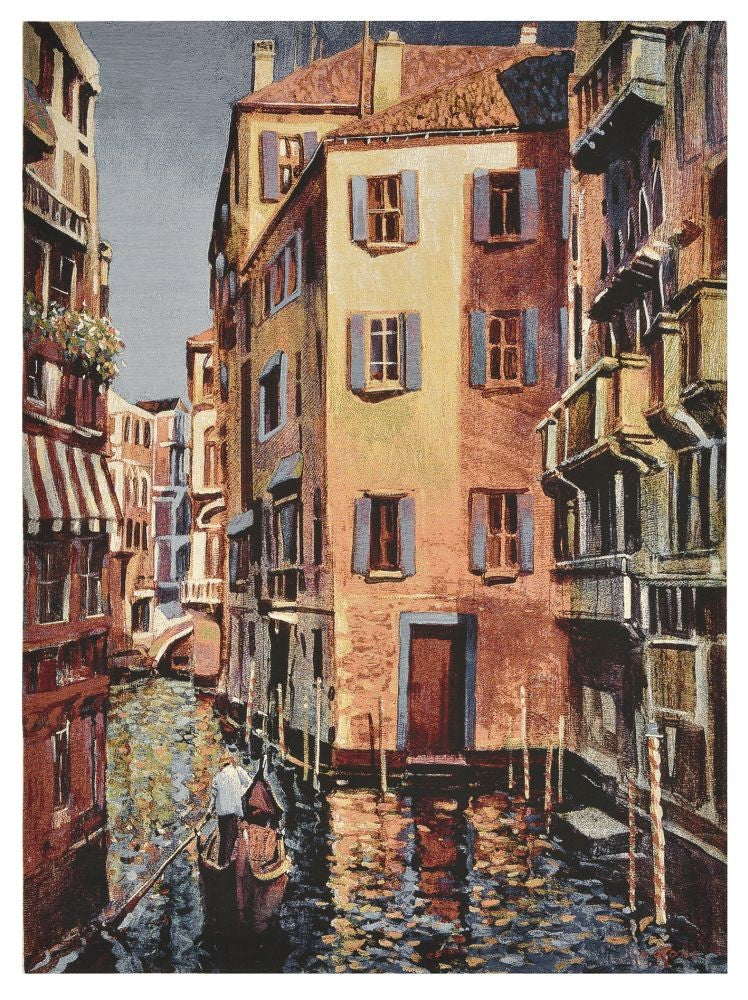 Venetian Escape Tapestry with Rod