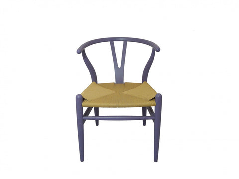 Replica Hans Wegner Wishbone Chair Purple
