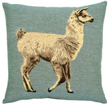 Woollen Animals Alpaca Cushion