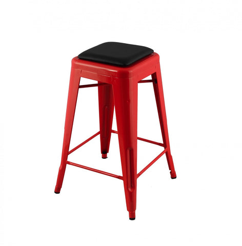 Replica Xavier Pauchard Tolix Stool 75cm Leather