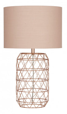 Ezra Table Lamp Copper Pair