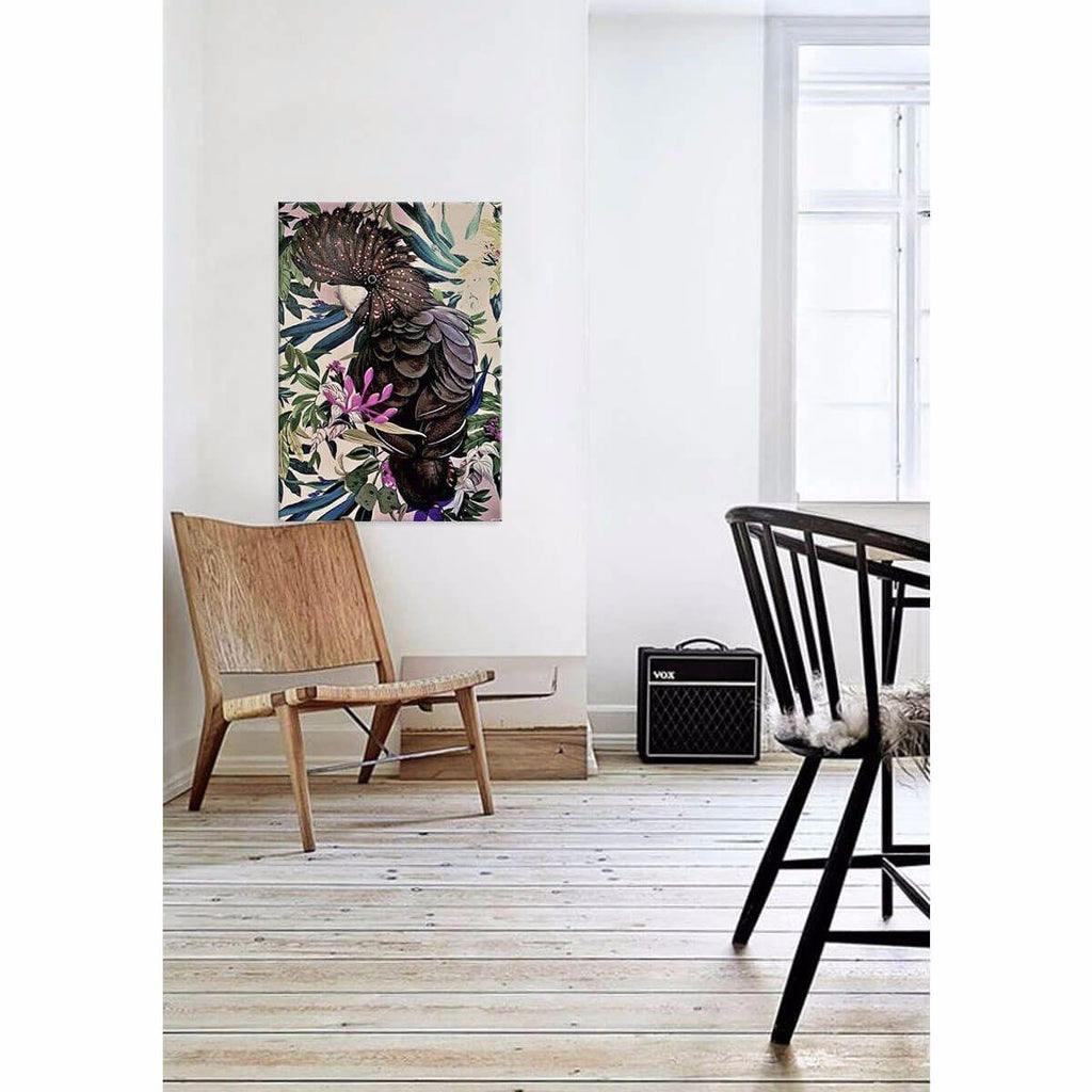 Sirieuse Canvas Painting with Floating Frame