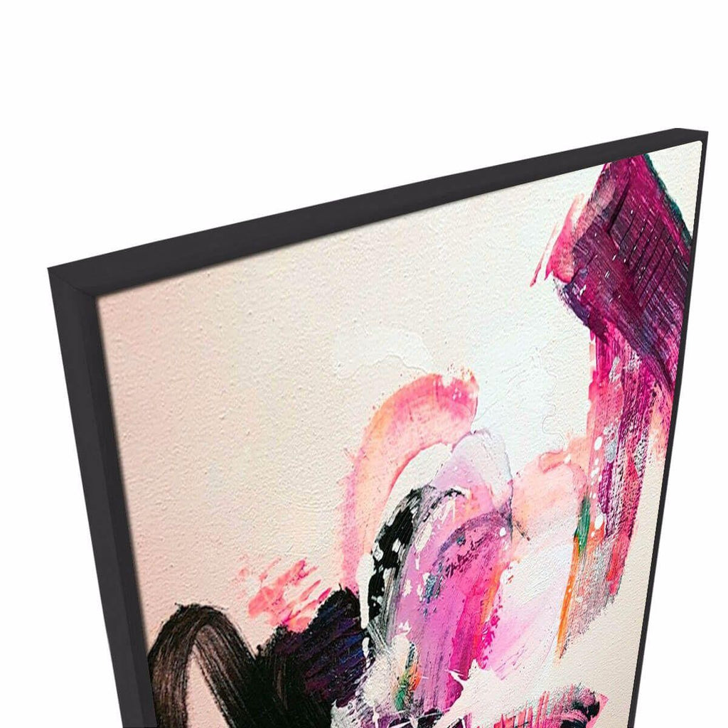 Sway Canvas Painting with Floating Frame