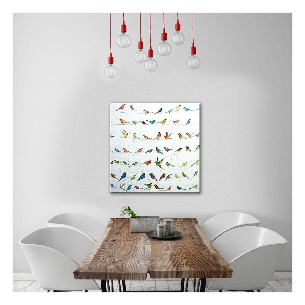 Prized Collection Canvas Painting with Floating Frame