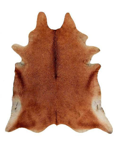 All Caramel Cow Hide