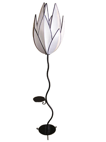 Artichoke Floor Lamp, White