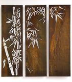 Bamboo Triple Panel Set/3