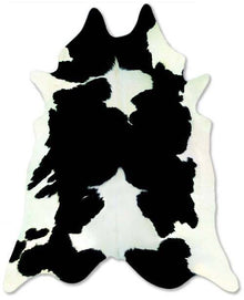 Black and White Cow Hide