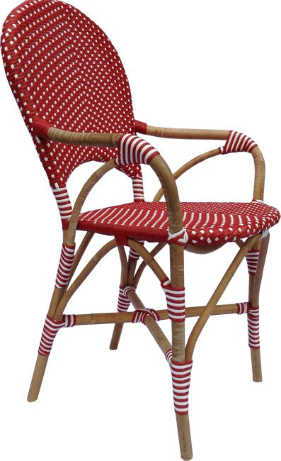 Cafe Chair Red