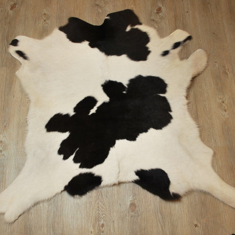 Calf Hide Black and White