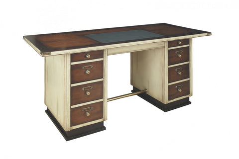 Captain's Desk Ivory