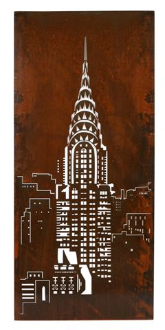 Chrysler Building Wall Panel