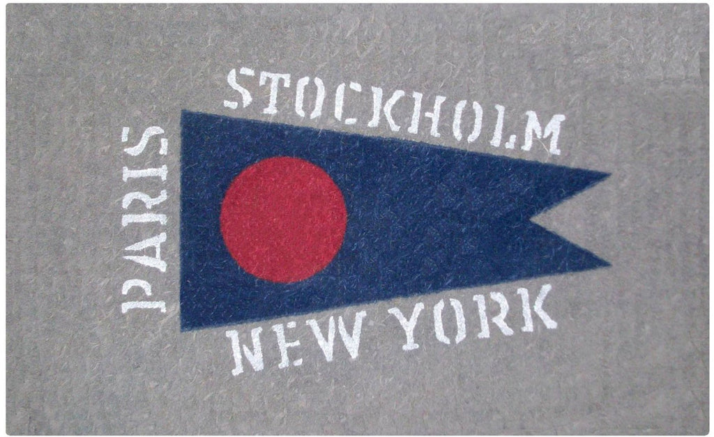 Cities Flag Doormat
