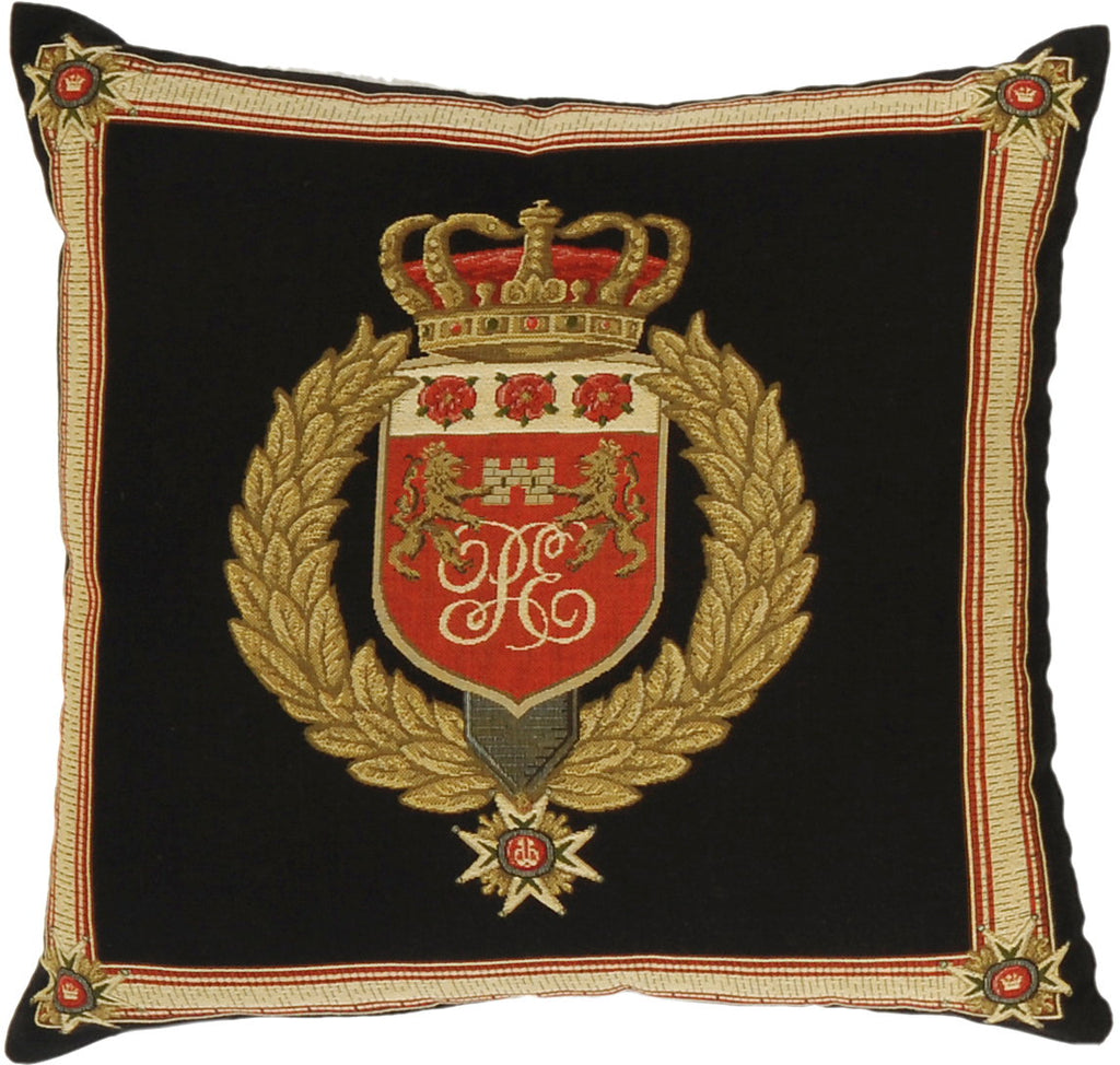 Crests Cushion Prince Edward Initials