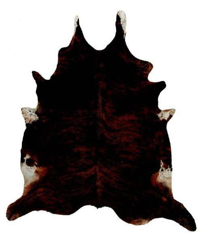 Dark Exotic Cow Hide