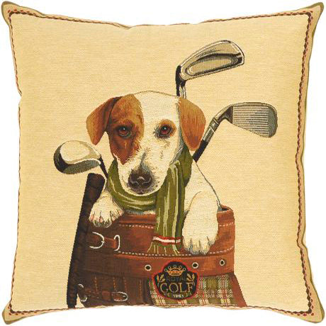 Golf Puppies Cushion Jasper