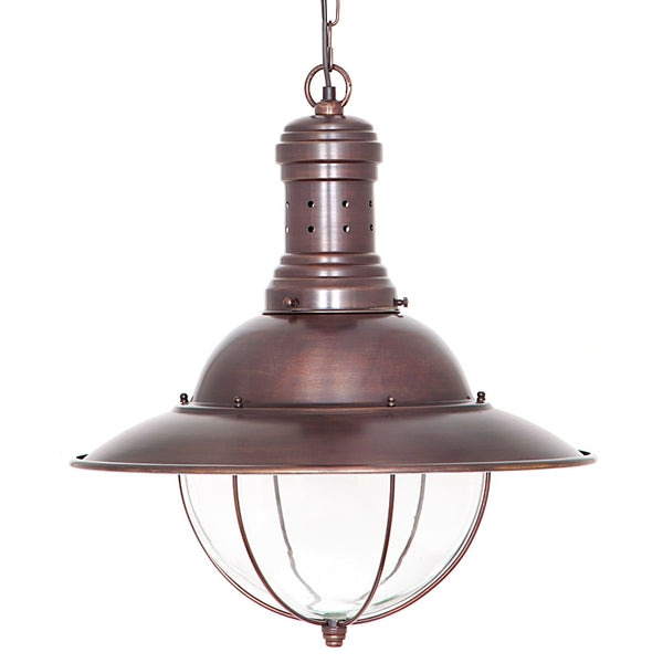 Harrison Ceiling Lamp Antique Copper