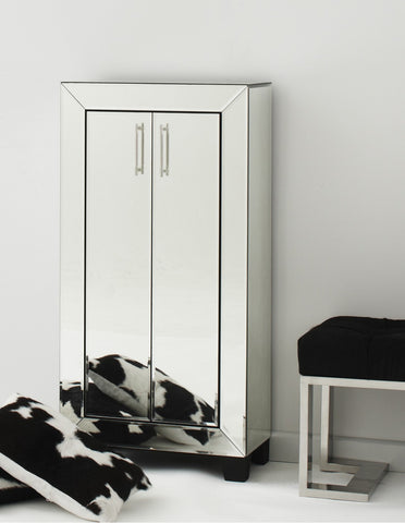 Isabelle Mirrored Cupboard